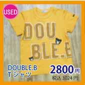 DOUBLE.B Tシャツ