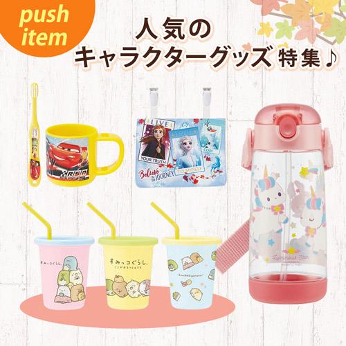 push item 人気のキャラクターグッズ特集♪